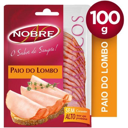 NOBRE Paio Lombo Fatias 100 g