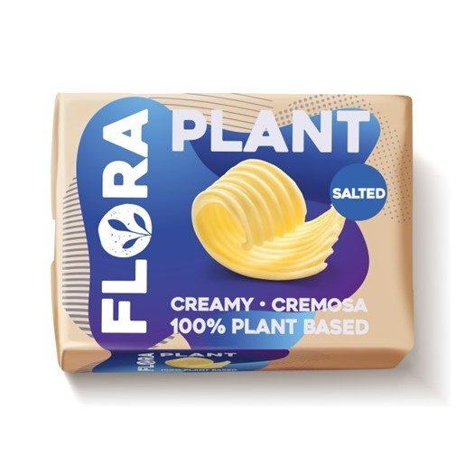 FLORA Creme para Barrar Planta Com Sal 250 g