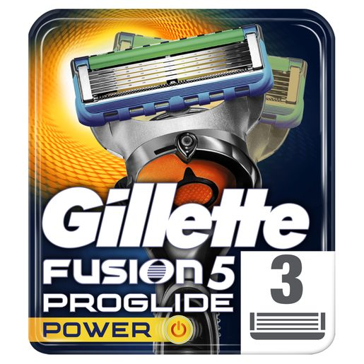 GILLETTE Carregador Fusion Proglide Power 3 Un