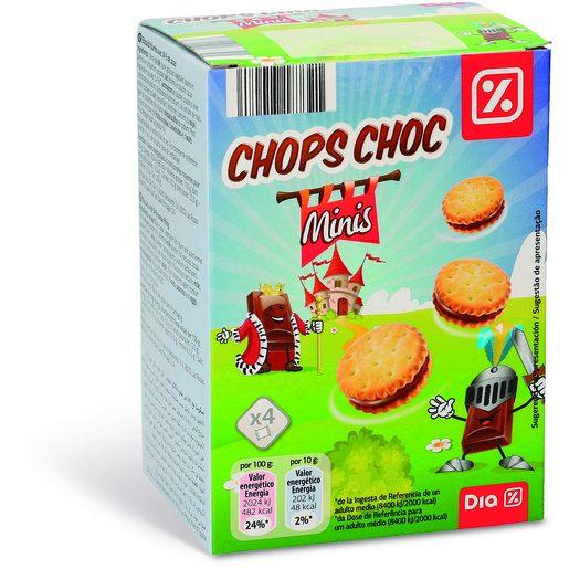 DIA Bolachas Chops Chocs Mini 160 g