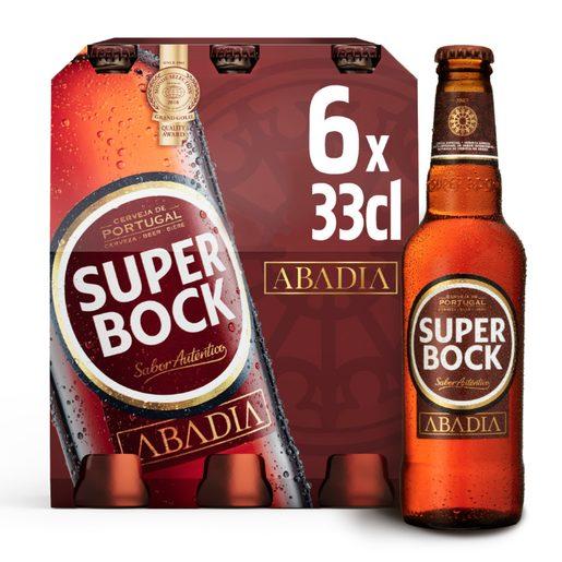 SUPER BOCK ABADIA Cerveja 6x330 ml