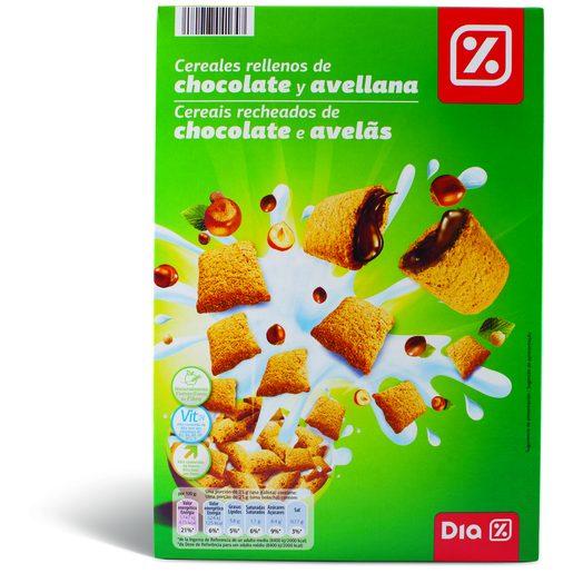 DIA Cereais Recheados de Chocolate E Avelãs 500 g