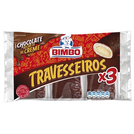 BIMBO Travesseiro de Chocolate 255 g