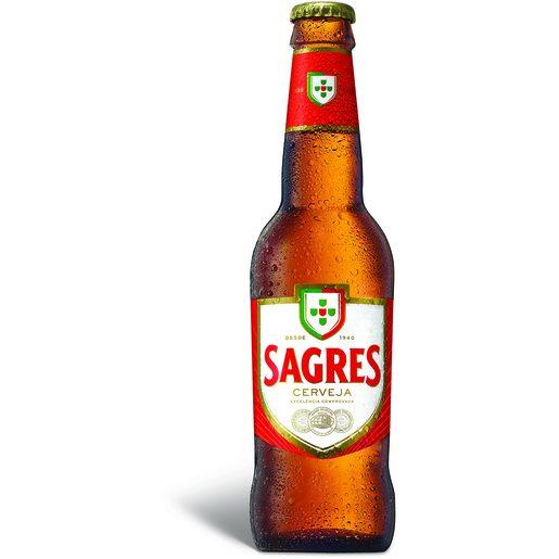 SAGRES Cerveja com Álcool 330 ml