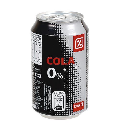 DIA Refrigerante Com Gás Cola Zero Lata 330 ml