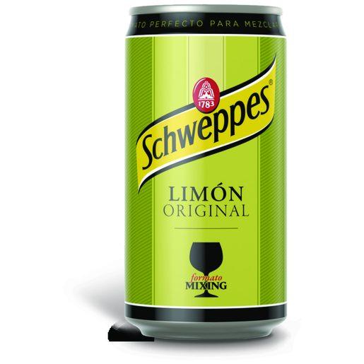 SCHWEPPES Água Tónica Limão Lata 250 ml