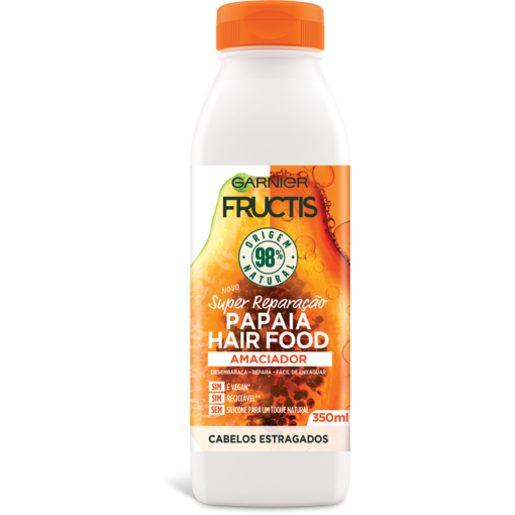 FRUCTIS Condicionador Hair Food Papaia 350 ml